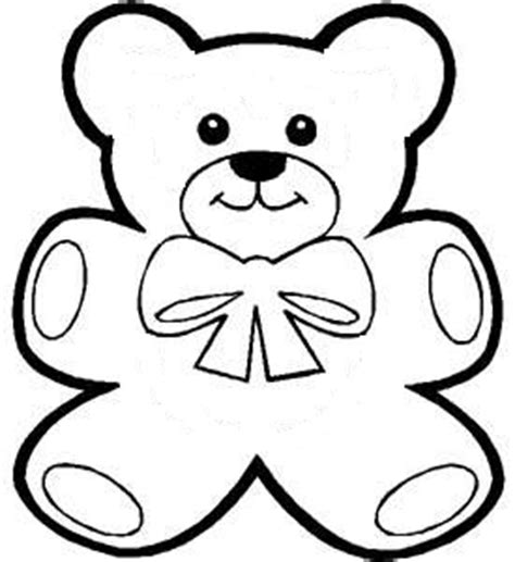 cut out teddy template to play at a teddy bears picnic