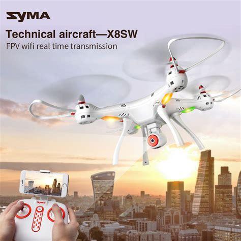 Drone Tercanggih Syma X8sw Kamera Fpv Wifi Upgrade Dari X8hw dron syma x8sw bia蛯y rtf kamera hd wifi dronex24