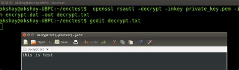 tutorial gpg linux how to encrypt data in linux using gpg and open ssl