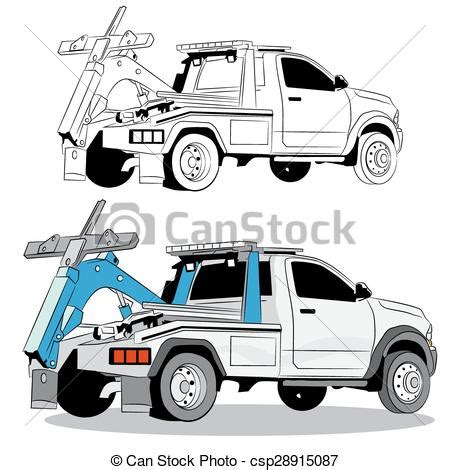 me a picture of a truck tow truck drawing an image of a tow truck