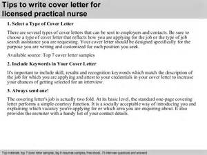 Licensed Practical Cover Letter by Licensed Practical Cover Letter
