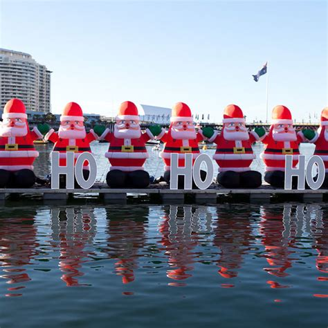 darling harbour santa fest 2014 sydney by lilbusgirl
