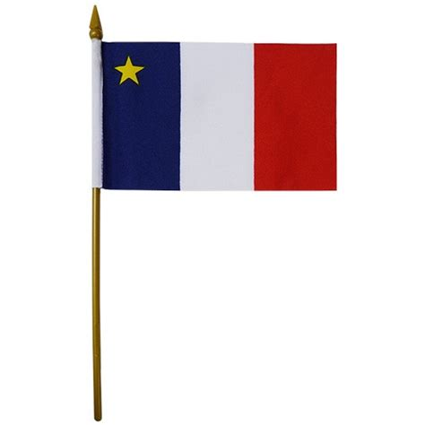 acadian flag flag of acadia acadia flags