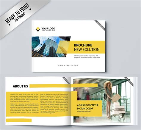 corporate brochure template free 16 corporate brochure design template freedownload