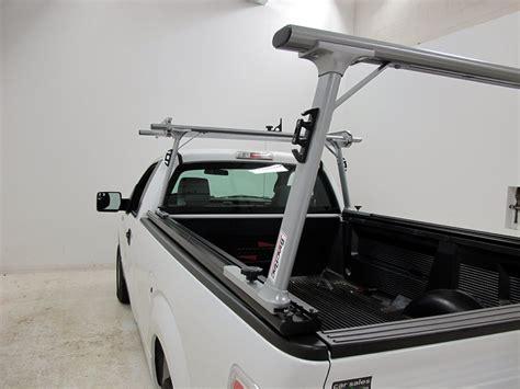 Sliding Ladder Rack by Tracrac Sr Sliding Truck Bed Ladder Rack W The Cab