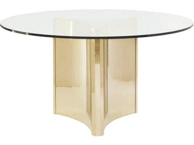 Metal Dining Table With Glass Top Bernhardt Bernhardt Interiors Dining Room Metal Dining Table With Glass Top 998 054p 353 772