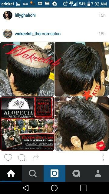 short weave hairstyles for alopecia alopecia short weave style hair and beauty pinterest
