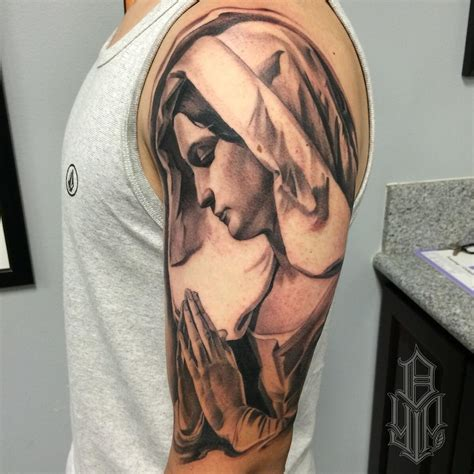 mary tattoos 75 best spiritual designs meanings
