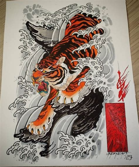 dragon and tiger tattoo designs tiger design japanese tiger tat