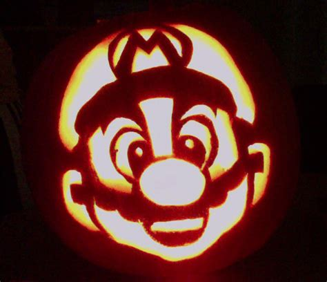 mario brothers pumpkin carving template mario pumpkin by colorsintheair on deviantart