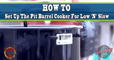 lighting the pit barrel cooker the pit barrel cooker for low and how to