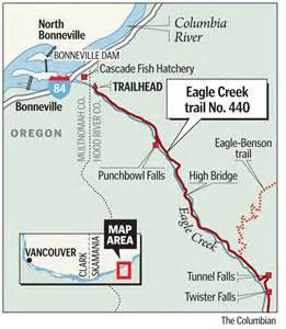 eagle creek trail for all seasons the columbian