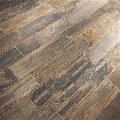 Porcelain Wood Tile Flooring Wood Look Porcelain Tile Flooring A New Alternative To Hardwood And Laminate Is Introduced