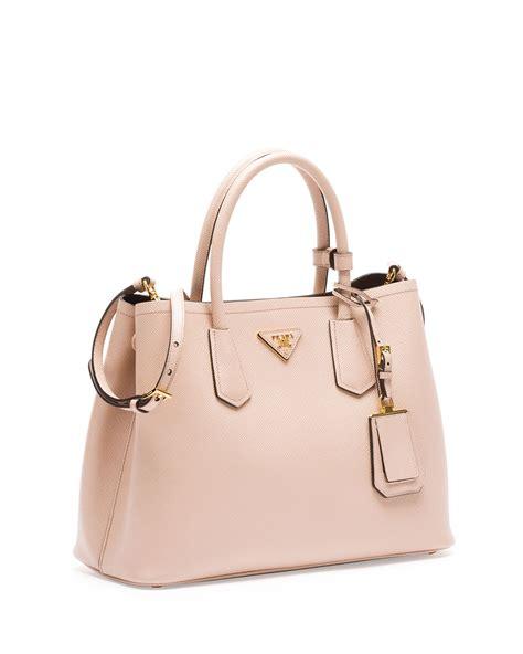 P Da Saffiano prada saffiano bauletto bag prada purses pink
