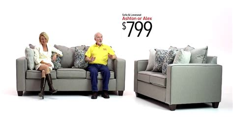 bobs furniture sectional sofas ashton and alex sofa sets bob s discount furniture youtube
