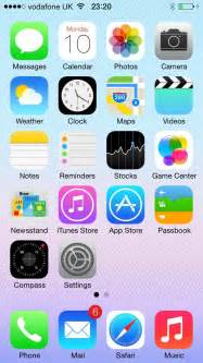 ios 7 beta key features review new look and feel