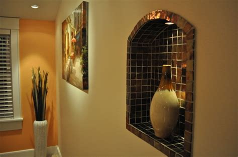 Decorating Ideas For Wall Niches Wall Niche Decorating Ideas