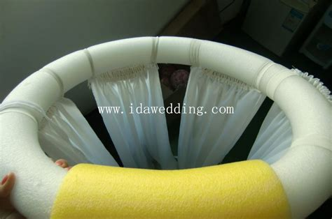 how to drape draping fabric on ceiling images