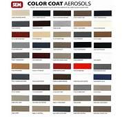 Vinyl Repair SEM Color Coat Aerosols Trim Paint Bumper