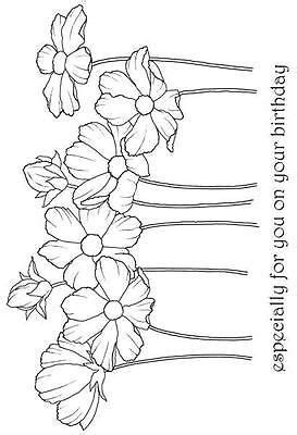 woodware doodle a flower 7450 best images about crafts c clip colored sts
