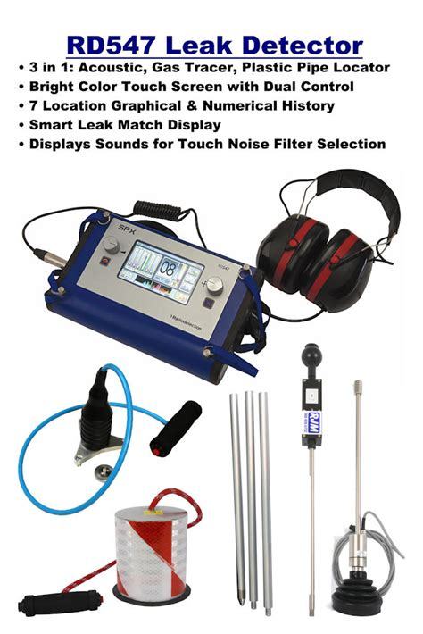 Plumbing Leak Detection Equipment by Water Leak Detector Equipment