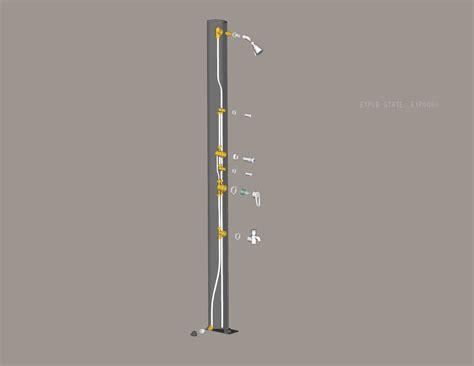 doccia solare costo doccia solare da giardino come funziona raccordi tubi
