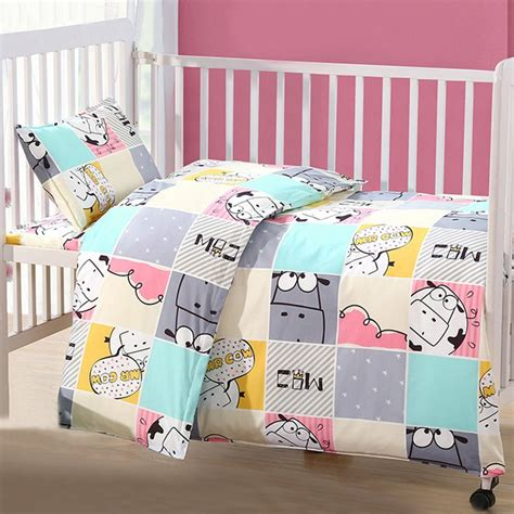 Duvet For Crib by Drop Shipping Baby Bedding Cotton Infant Boys Crib
