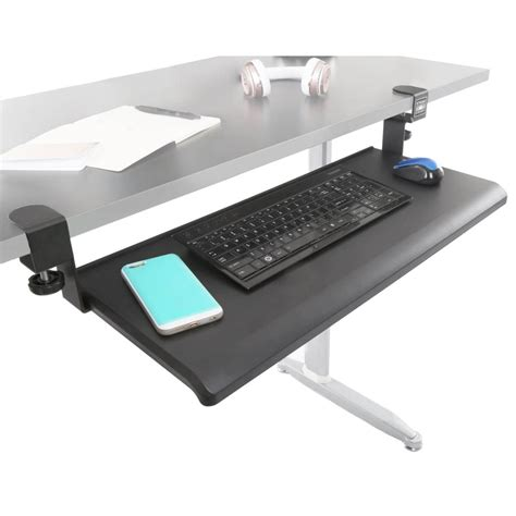 ergotron standing desk accessories ergotron keyboard tray under desk 3m knob adjust keyboard