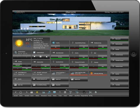 Home Design Software App knx visualisierung xsolution xhome smart home visualisierung