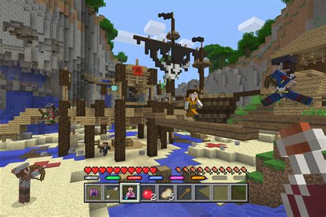 game console mod minecraft 1 8 all minecraft console editions get free battle minigame