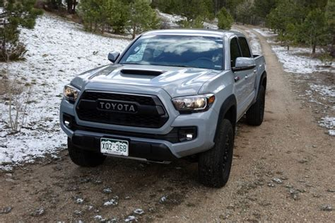 Toyota Raptor 2017 Toyota Tacoma Trd Pro Drive Review The
