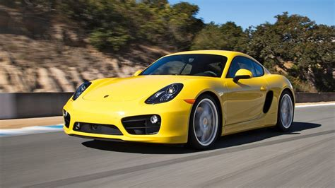 yellow porsche lil 2014 porsche cayman s 2013 best driver s car