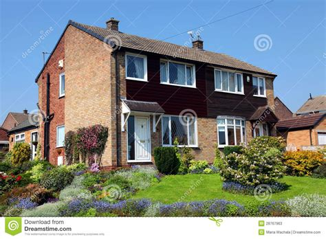 image of a house typical english house stock image image of house city