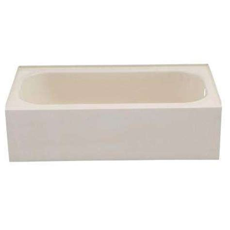 bootz maui bathtub beige bootz industries bathtubs bath the home depot