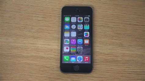 iphone image iphone 5s ios 8 gm review