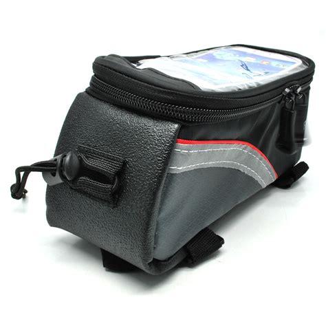 roswheel tas sepeda waterproof untuk 4 8 inch smartphone