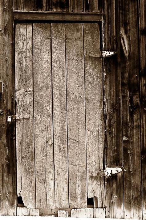 Old Rustic Black And White Barn Woord Door Greeting Card Rustic Barn Doors For Sale