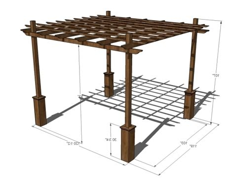 Pergola Dimensions Height Pergola Gazebo Ideas Average Height Of A Pergola
