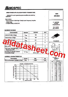 datasheet transistor sanken 2sc2922 datasheet transistor sanken 2sc2922 28 images 2sc2922 datasheet pdf wing shing computer