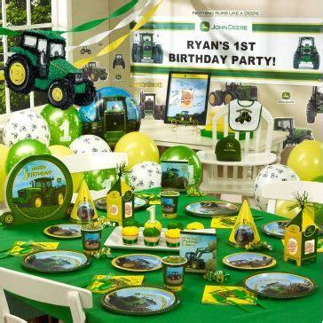 john deere themed birthday party 17 boy first birthday themes baby boys pinterest