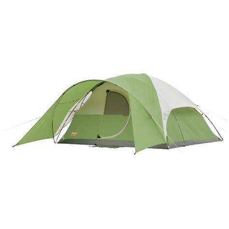 Coleman Tent With Hinged Door by Coleman Evanston Tent 8 Person 12 X 12 Hinged Door