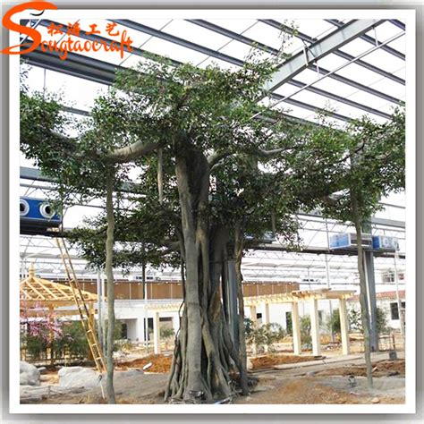 Paket Daun Bunga Artificial Daun Bunga Buatan Daun Bunga Hias 2 tropis palsu tanaman hias plastik buatan pohon beringin