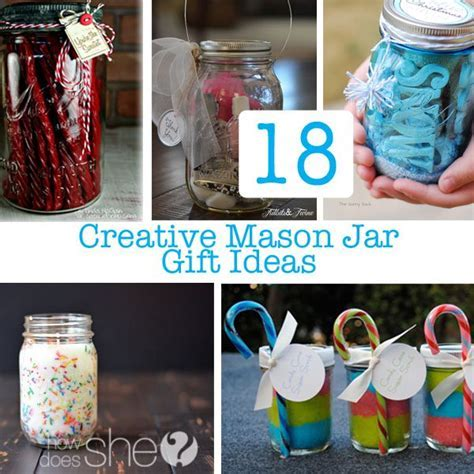 18 Creative DIY Mason Jar Gifts   Great Gift Ideas