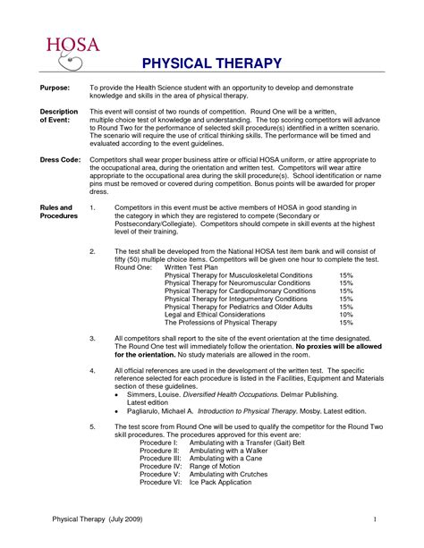 templates occupational therapist jobcription sample travel resume
