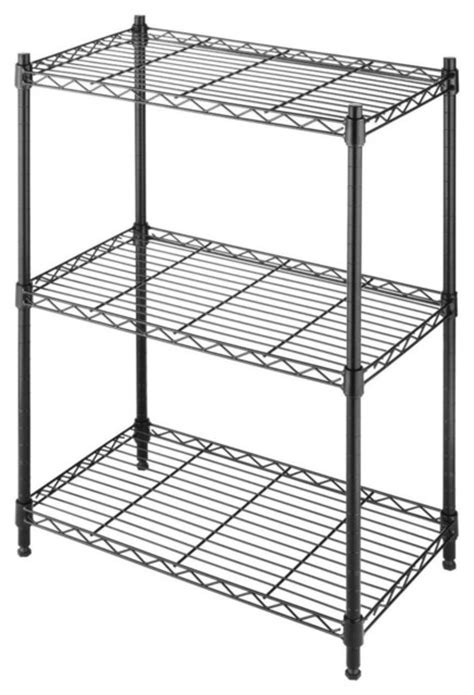 fastfurnishings small 3 shelf storage rack shelving unit