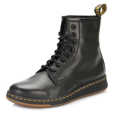 Dr Martens High Unisex dr martens unisex mid calf boots black newton 8 eye lace