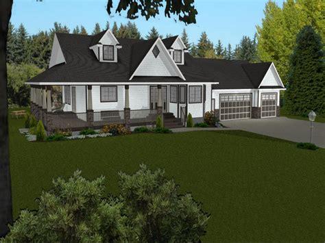ranch house plans  wrap  porch ranch house plans