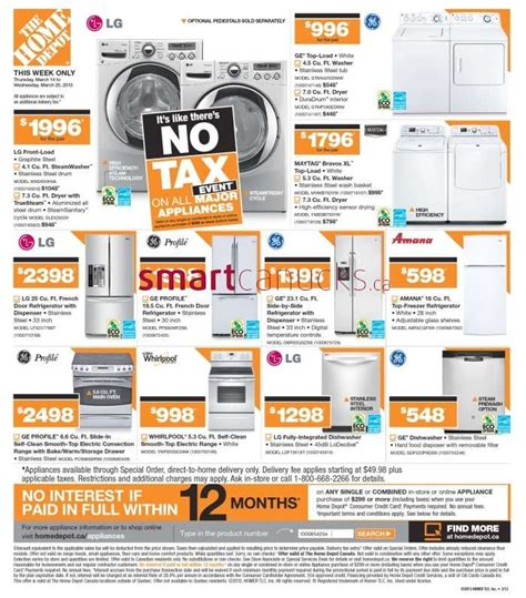 home depot flyer mar 14 to 20