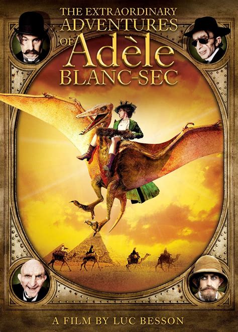 The Secret Of Blanc the extraordinary adventures of ad 232 le blanc sec