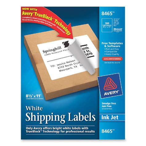 smead label templates mailing label avery dennison 8465 ave8465 labels